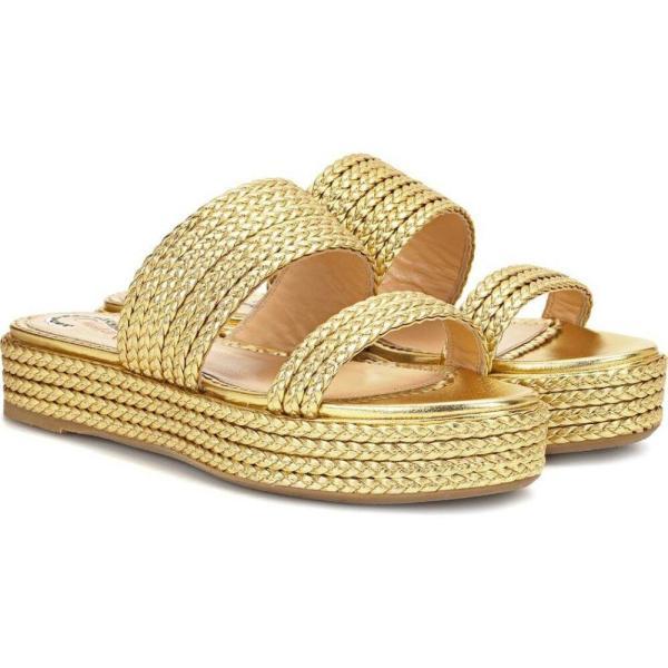 シャーロット オリンピア レディース サンダル・ミュール シューズ・靴 Hackney leather sandals Gold