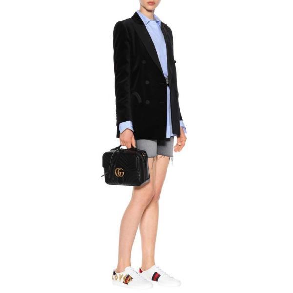 グッチ レディース スニーカー シューズ・靴 Ace leather sneakers Bianco
