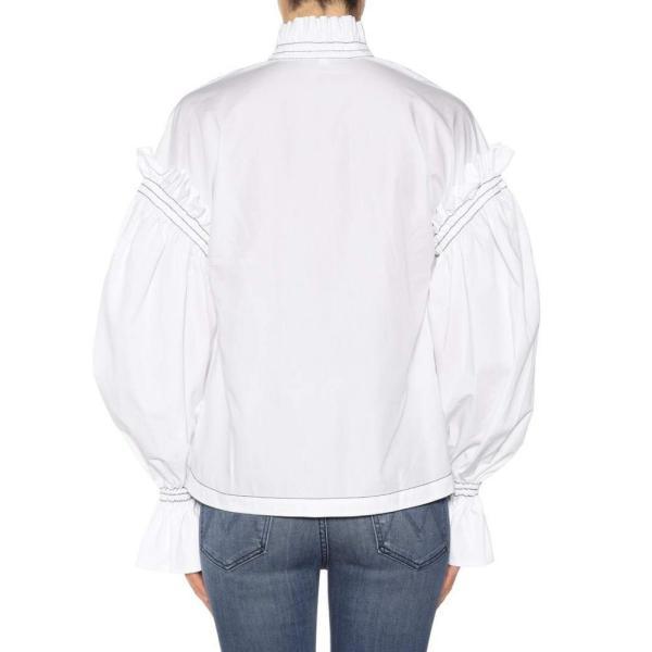 ジョナサン シンカイ Jonathan Simkhai レディース ブラウス・シャツ トップス Cotton shirt Ivory