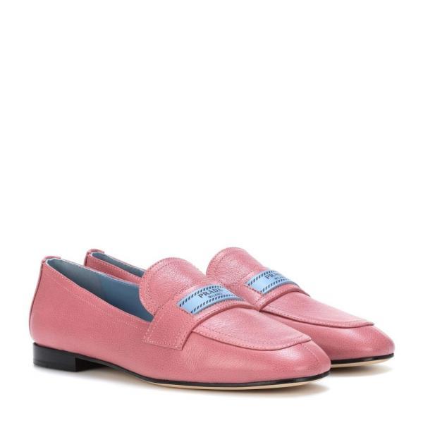 プラダ レディース ローファー・オックスフォード シューズ・靴 Leather loafers Loto