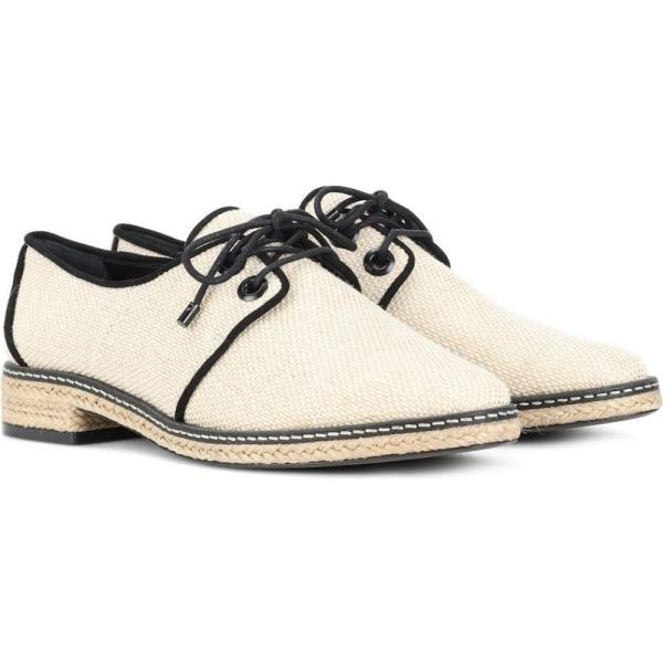 トリー バーチ Tory Burch レディース ローファー・オックスフォード シューズ・靴 Fawn Derby shoes Natural / Black