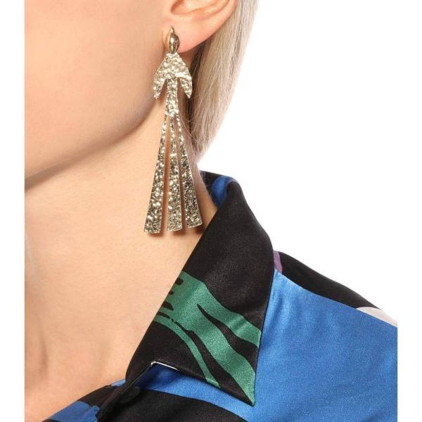 J.W.アンダーソン JW Anderson レディース イヤリング・ピアス ジュエリー・アクセサリー Hammered Bird gold-plated earrings