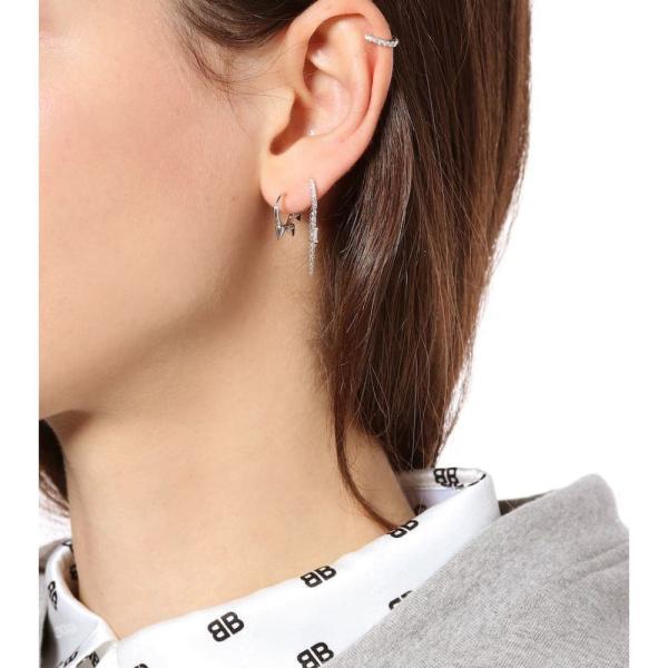 マリアタシュ Maria Tash レディース イヤリング・ピアス ジュエリー・アクセサリー 14kt white gold single earring