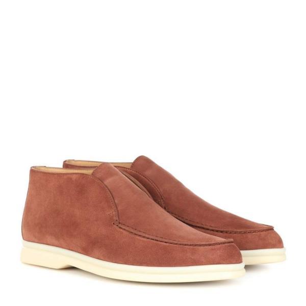 ロロピアーナ Loro Piana レディース ローファー・オックスフォード シューズ・靴 Suede desert boots Rust