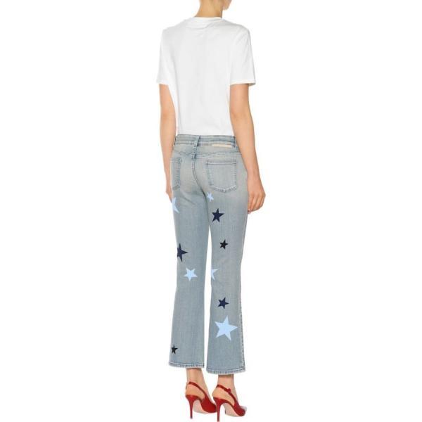 ステラ マッカートニー Stella McCartney レディース ジーンズ・デニム ボトムス・パンツ Star-printed flared jeans Classic Blue
