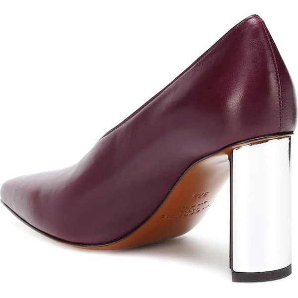ロベール クレジュリー Clergerie レディース パンプス シューズ・靴 Kathleen leather pumps Aubergine