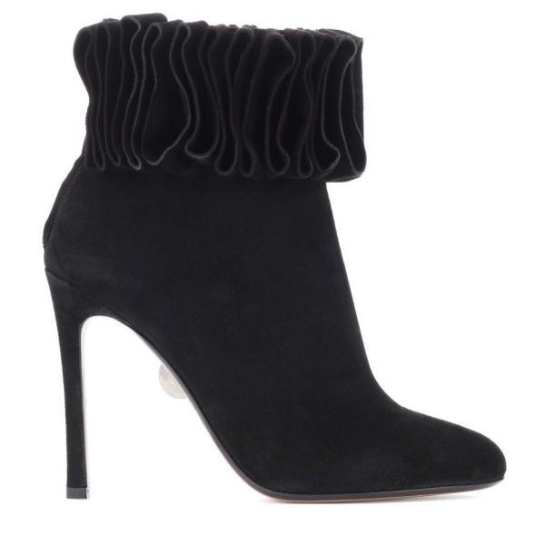サミュエル フェイリ Samuele Failli レディース ブーツ シューズ・靴 Alexandra 105 suede ankle boots Nero