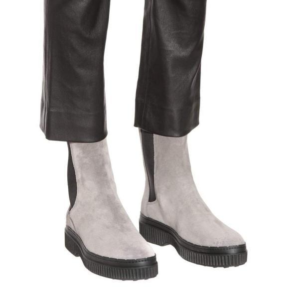 トッズ Tod's レディース ブーツ シューズ・靴 Suede ankle boots Cenere