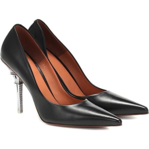 ヴェトモン Vetements レディース パンプス シューズ・靴 Leather pumps Black