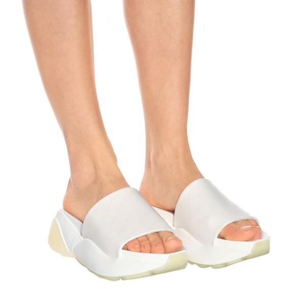 ステラ マッカートニー Stella McCartney レディース サンダル・ミュール シューズ・靴 Elypse slides White