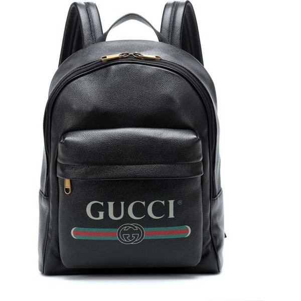 84dd06a2d182 グッチ Gucci レディース バックパック・リュック バッグ Printed leather backpack Bk.Greg.Grg