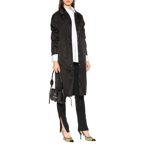プラダ Prada レディース パンプス シューズ・靴 Stretch-knit pumps Black/Soleil