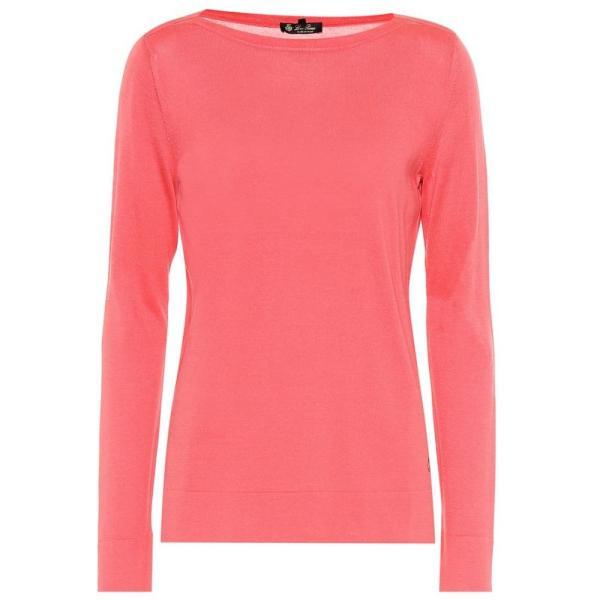 ロロピアーナ Loro Piana レディース ニット・セーター トップス Silk and cotton sweater