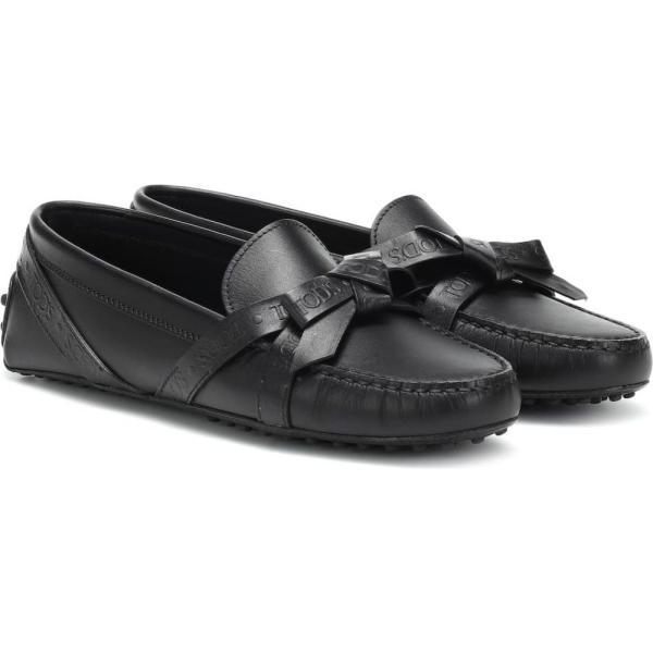トッズ Tod's レディース ローファー・オックスフォード シューズ・靴 Gommino leather loafers nero