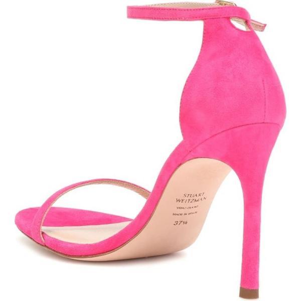 スチュアート ワイツマン Stuart Weitzman レディース サンダル・ミュール シューズ・靴 Nudistsong suede sandals Flamingo