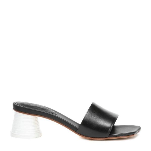 メゾン マルジェラ MM6 Maison Margiela レディース サンダル・ミュール シューズ・靴 Leather sandals