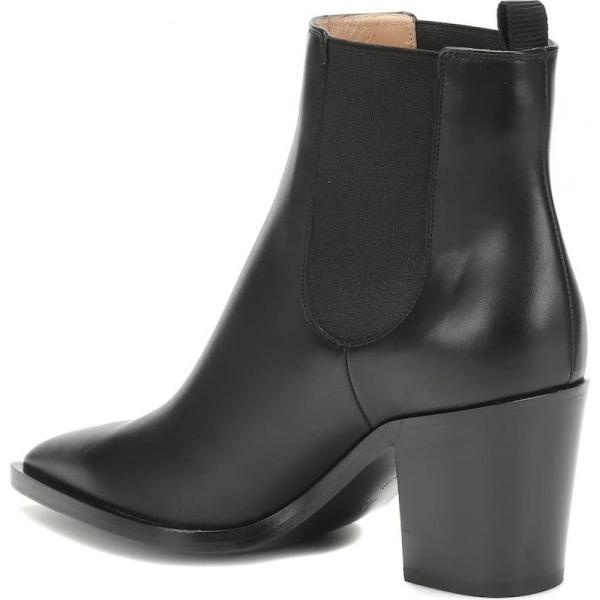 ジャンヴィト ロッシ Gianvito Rossi レディース ブーツ シューズ・靴 Romney 70 leather ankle boots black