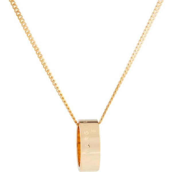 メゾン マルジェラ MM6 Maison Margiela レディース ネックレス チャーム ジュエリー・アクセサリー Ring charm necklace