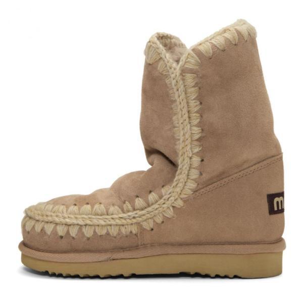 ムー Mou レディース ブーツ シューズ・靴 Beige Eskimo 24 Boots