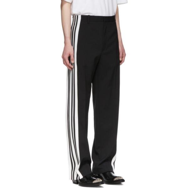 バレンシアガ Balenciaga メンズ ボトムス・パンツ Black & White Stretch Trousers|fermart3-store|02
