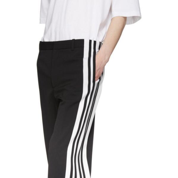 バレンシアガ Balenciaga メンズ ボトムス・パンツ Black & White Stretch Trousers|fermart3-store|04