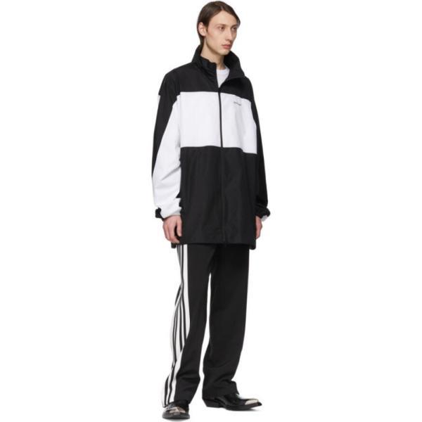 バレンシアガ Balenciaga メンズ ボトムス・パンツ Black & White Stretch Trousers|fermart3-store|05