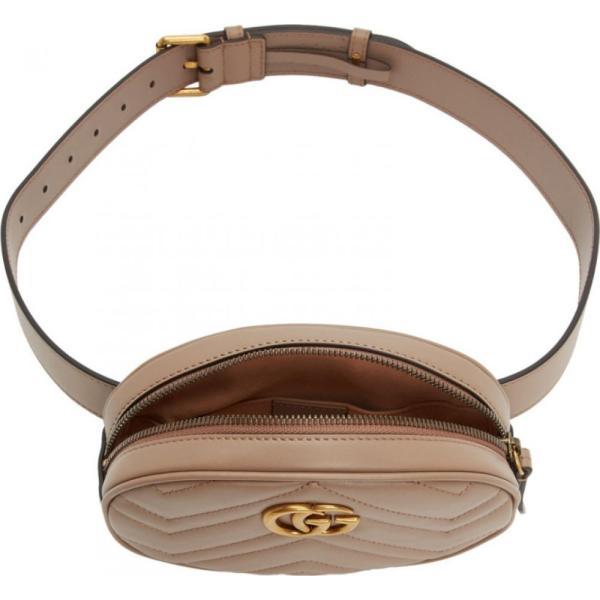 グッチ Gucci レディース ボディバッグ・ウエストポーチ バッグ Pink GG Marmont 2.0 Belt Pouch