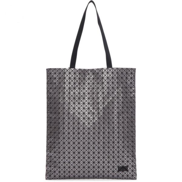 イッセイ ミヤケ Bao Bao Issey Miyake メンズ トートバッグ バッグ silver crispy metallic tote|fermart3-store