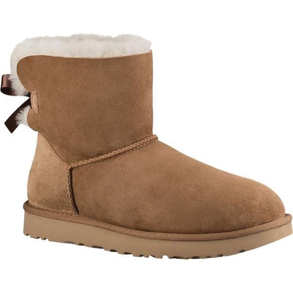 アグ Ugg レディース ブーツ シューズ・靴 Mini Bailey Bow II Boot Chestnut