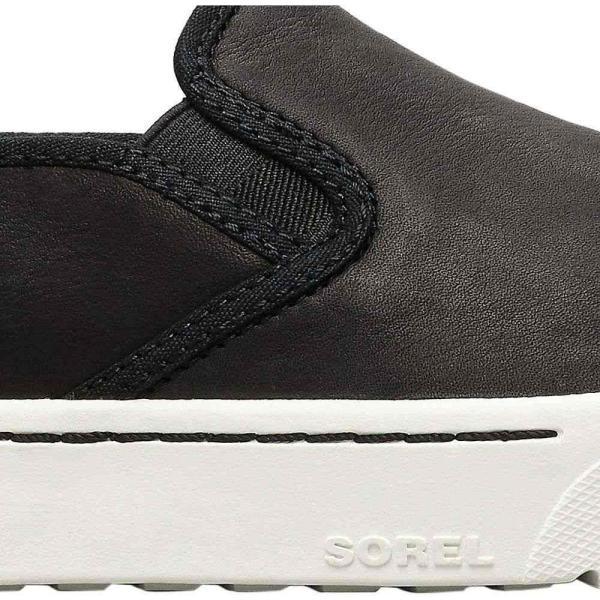 ソレル Sorel レディース スリッポン・フラット シューズ・靴 Campsneak Slip On Shoe Black