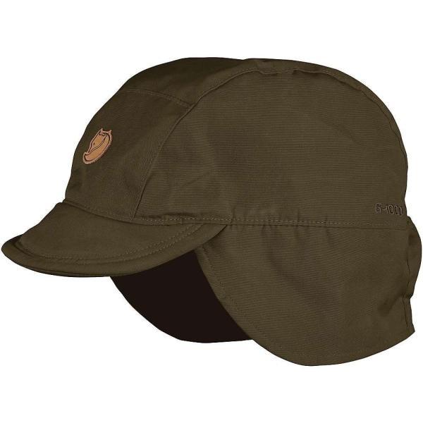 フェールラーベン Fjallraven ユニセックス 帽子 Singi Field Cap Dark Olive