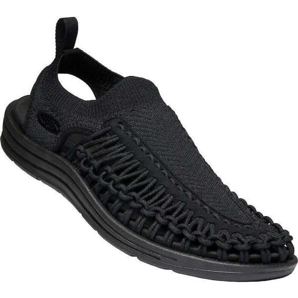 キーン KEEN メンズ サンダル シューズ・靴 Uneek Evo Sandal Black/Black