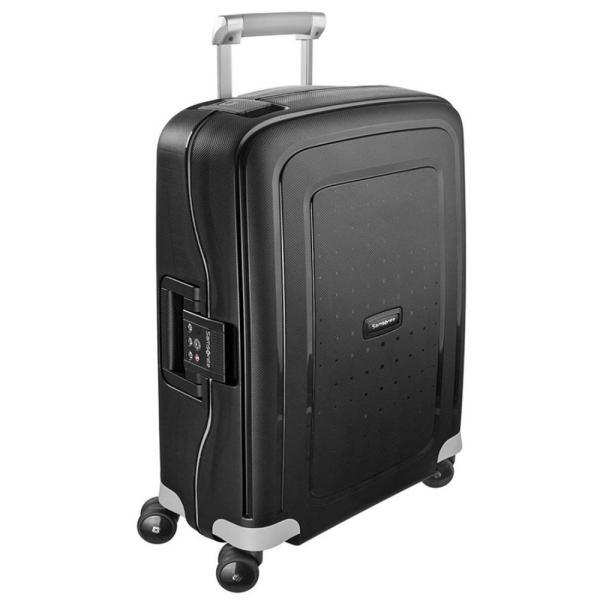 サムソナイト Samsonite メンズ スーツケース・キャリーバッグ バッグ S'Cure Spinner 55/20 Black