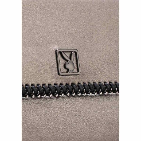 プレイボーイ Playboy レディース クラッチバッグ バッグ Clutch/Sling Bag Silver