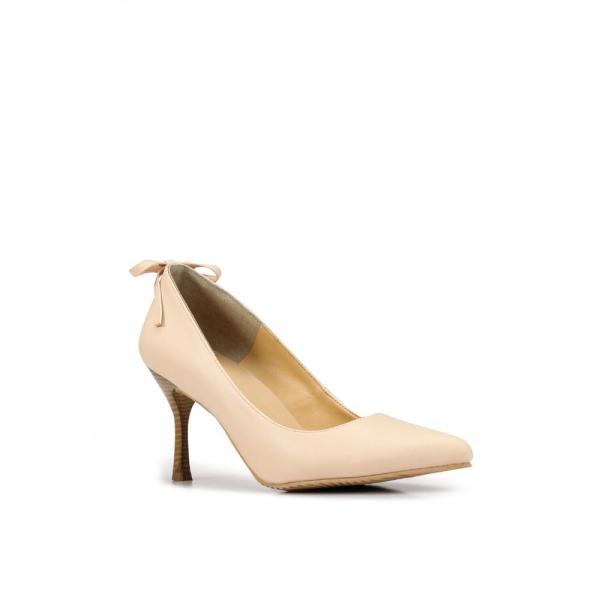 ヒートウェーブ Heatwave レディース パンプス シューズ・靴 Back Bow Pumps Cream|fermart3-store|02