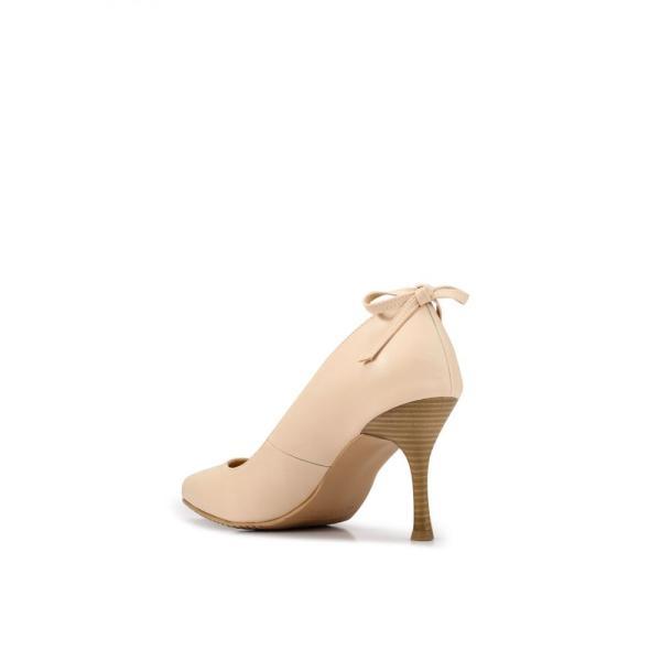 ヒートウェーブ Heatwave レディース パンプス シューズ・靴 Back Bow Pumps Cream|fermart3-store|03