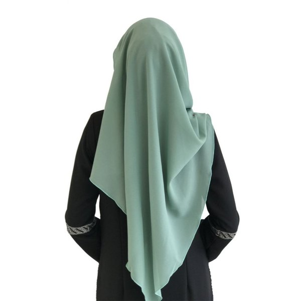 ファロサ Farosa レディース ヒジャブ ムスリムウェア Laisa Plain Semi Instant Shawl (Dusty Green) Dusty Green|fermart3-store|03