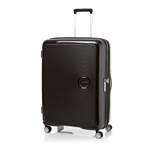 アメリカンツーリスター American Tourister レディース スーツケース・キャリーバッグ バッグ Curio Spinner 80/30 EXP TSA Black