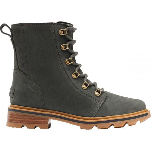 ソレル Sorel レディース ブーツ シューズ・靴 Lennox Lace Boot Dark Moss/Gum