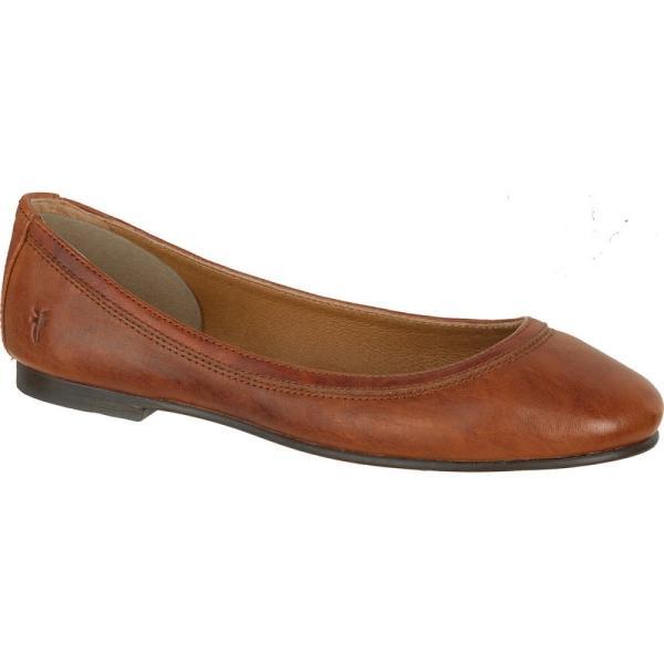 フライ レディース スリッポン・フラット シューズ・靴 Carson Ballet Shoe Cognac|fermart3-store|03