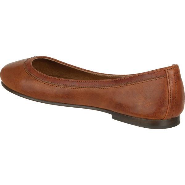 フライ レディース スリッポン・フラット シューズ・靴 Carson Ballet Shoe Cognac|fermart3-store|04