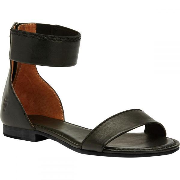 フライ レディース サンダル・ミュール シューズ・靴 Carson Ankle Zip Sandal Black|fermart3-store|02