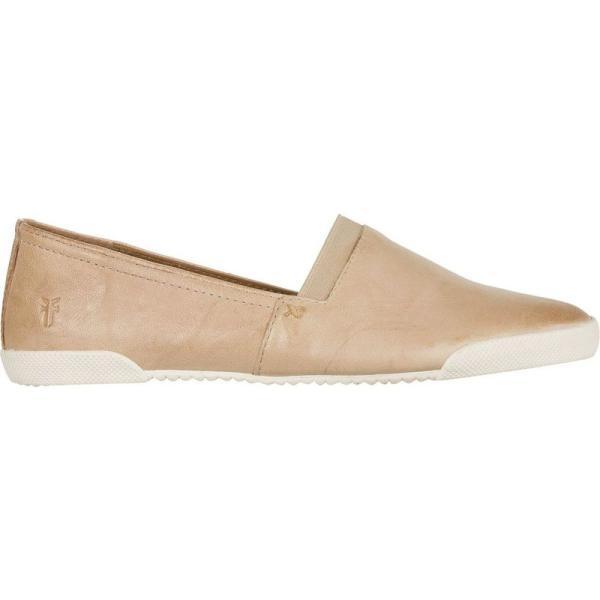 フライ Frye レディース スリッポン・フラット シューズ・靴 Melanie Slip On Shoe Cream|fermart3-store