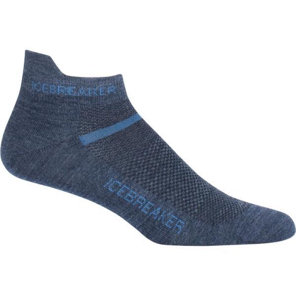 アイスブレーカー メンズ ソックス インナー・下着 Multisport Ultralite Micro Sock Fathom Heather/Sea Blue|fermart3-store