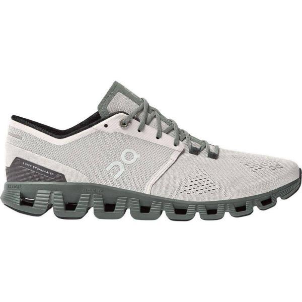 オン On メンズ ランニング・ウォーキング シューズ・靴 Cloud X Running Shoe Glacier/Olive