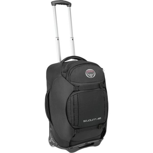 オスプレー Osprey Packs レディース スーツケース・キャリーバッグ ギアバッグ バッグ Sojourn 45L Rolling Gear Bag Flash Black