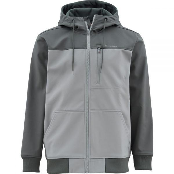 シムズ Simms メンズ パーカー トップス Rogue Hooded Fleece Jackets Carbon|fermart3-store