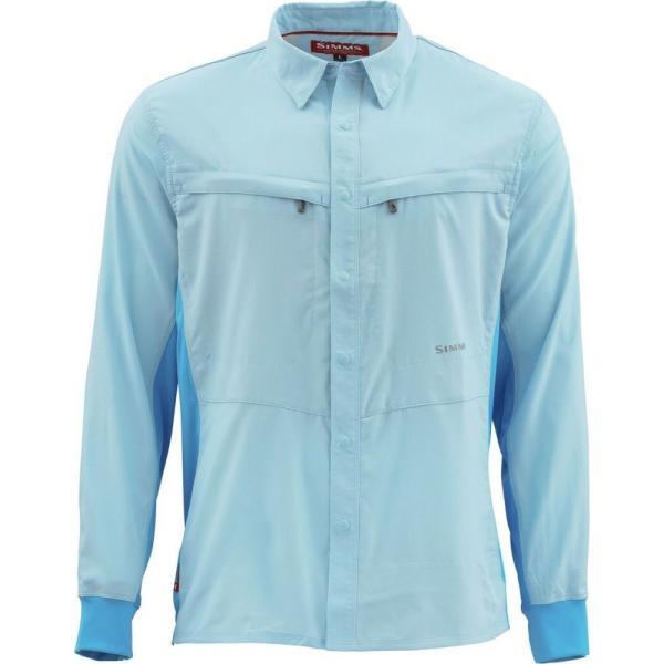 シムズ Simms メンズ シャツ トップス Intruder BiComp Shirt Mist|fermart3-store