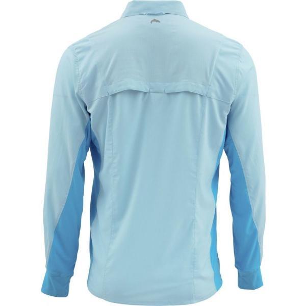 シムズ Simms メンズ シャツ トップス Intruder BiComp Shirt Mist|fermart3-store|02