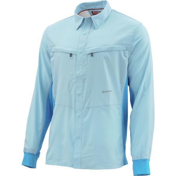 シムズ Simms メンズ シャツ トップス Intruder BiComp Shirt Mist|fermart3-store|03